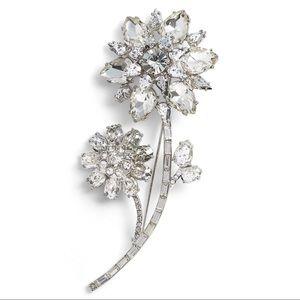 NWT Kate Spade Trellis Blooms Large Brooch Pin